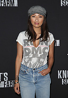 BUENA PARK, CA - SEPTEMBER 29: Jeannie Mai, at Knott's Scary Farm & Instagram's Celebrity Night at Knott's Berry Farm in Buena Park, California on September 29, 2017. Credit: Faye Sadou/MediaPunch