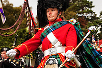 Drum Majoress Braemar Gathering