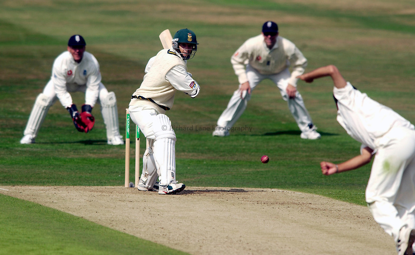 Photo. Jed Wee.England v South Africa, npower Summer Test, Headingley, Leeds. 21/08/2003..South Africa's Gary Kirsten (batting).
