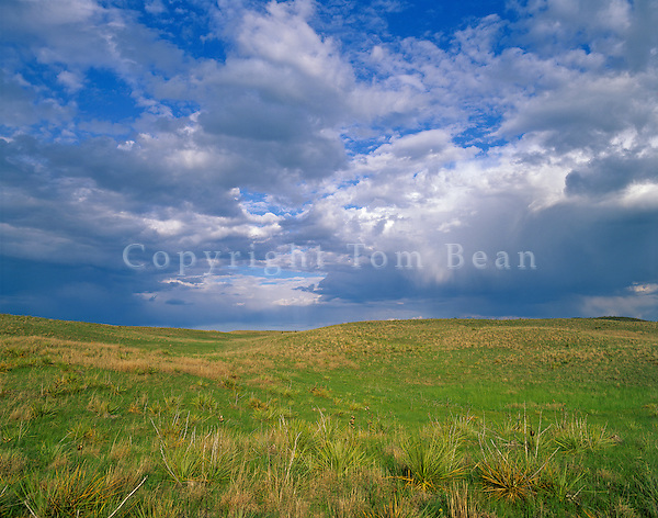 Sky over Sand Hills grasslands at Valentine National Wildlife Refuge, south of Valentine, Nebraska, AGPix_0390.