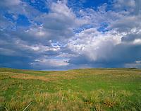 Sky over Sand Hills grasslands at Valentine National Wildlife Refuge, south of Valentine, Nebraska, AGPix_0390.