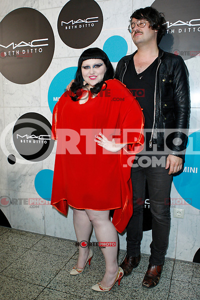 Beth Ditto and Nathan Howdeshell of The Gossip attending The M.A.C BETH DITTO LOVE BETH LAUNCH EVENT at Made Club in Berlin, Germany, 05.06.2012...Credit: Tomasz Poslada/face to face /MediaPunch Inc. ***FOR USA ONLY***