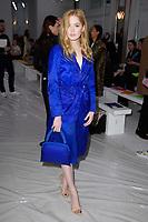 Ellie Bamber<br /> at the Jasper Conran show as part of London Fashion Week, London<br /> <br /> <br /> ©Ash Knotek  D3378  17/02/2018