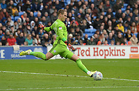 Cardiff City's Alex Smithies during the game<br /> <br /> Photographer Ian Cook/CameraSport<br /> <br /> The EFL Sky Bet Championship - Cardiff City v Swansea City - Sunday 12th January 2020 - Cardiff City Stadium - Cardiff<br /> <br /> World Copyright © 2020 CameraSport. All rights reserved. 43 Linden Ave. Countesthorpe. Leicester. England. LE8 5PG - Tel: +44 (0) 116 277 4147 - admin@camerasport.com - www.camerasport.com