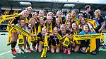 DEN BOSCH - Het team van Den Bosch  na  de finale van de EuroHockey Club Cup, Den Bosch-UHC Hamburg (2-1) . COPYRIGHT  KOEN SUYK