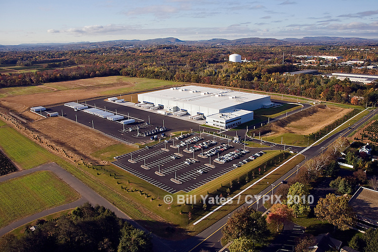 Burris Logistics Refrigerated Warehouse Rocky Hill Hartford Connecticut helicopter aerial