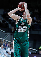 Zalgiris Kaunas' Ksistof Lavrinovic during Euroleague 2012/2013 match.January 11,2013. (ALTERPHOTOS/Acero) NortePHOTO