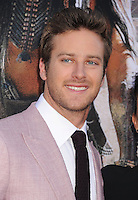 WWW.BLUESTAR-IMAGES.COM  Actor Armie Hammer arrives at 'The Lone Ranger' World Premiere at Disney's California Adventure on June 22, 2013 in Anaheim, California.<br /> Photo: BlueStar Images/OIC jbm1005  +44 (0)208 445 8588