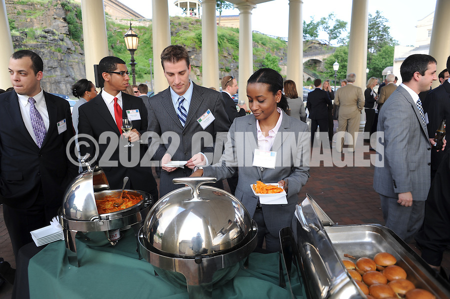 PHILADELPHIA - MAY 25: Fox Rothschild Summer 2011 Intern Reception at The Water Works May 21, 2011 in Philadelphia, Pennsylvania. (Photo by William Thomas Cain/cainimages.com)