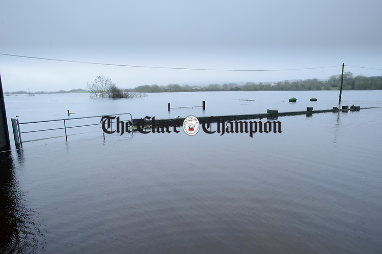 a view of flooding in the Peterswell area of South Galway. Photograph by John Kelly.