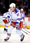 23 January 2010: New York Rangers' center Brian Boyle warms up prior to a game against the Montreal Canadiens at the Bell Centre in Montreal, Quebec, Canada. The Canadiens shut out the Rangers 6-0. Mandatory Credit: Ed Wolfstein Photo