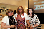 Southington, CT- 03 May 2017-050317CM11-  Social moments from left, Toni Losee, Monique Dolphy and Kate Sproul, all with MacDermid Inc. are photographed during a United Way of Greater Waterbury celebration at the Aqua Turf on Wednesday.         Christopher Massa Republican-American
