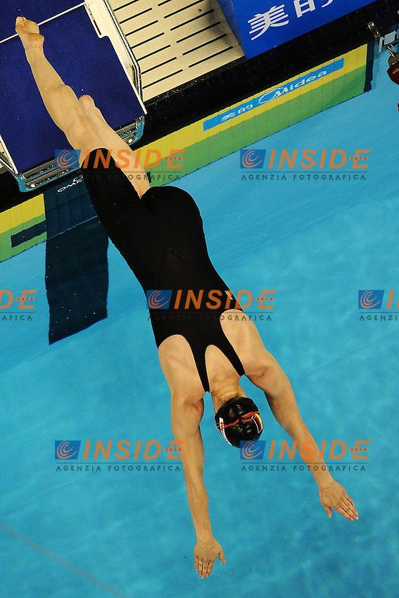 Britta STEFFEN Germany.Women's 4x200m Freestyle Relay - Swimming / Nuoto.Shanghai 28/7/2011 .14th FINA World Championships.Foto Andrea Staccioli Insidefoto