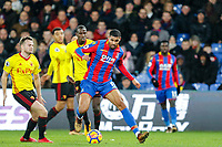 Ruben Loftus-Cheek of Crystal Palace during the EPL - Premier League match between Crystal Palace and Watford at Selhurst Park, London, England on 12 December 2017. Photo by Carlton Myrie / PRiME Media Images.