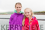 Holly Ryan and Grace Ball (Ballyferriter) enjoying the Regatta Fionn Trá in Ventry on Sunday afternoon.