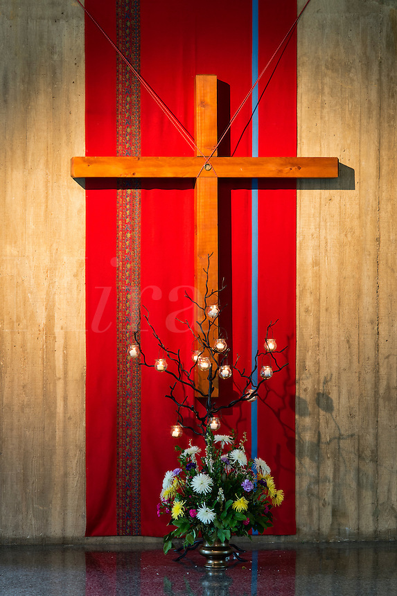 Liturgical cross.