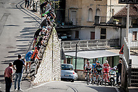 breakaway group up the first climb of the day; the Colle Gallo (763m)<br /> <br /> 113th Il Lombardia 2019 (1.UWT)<br /> 1 day race from Bergamo to Como (ITA/243km)<br /> <br /> ©kramon