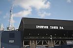 Ipswich Town Football Club ground, Brittania stand, Ipswich, Suffolk, England