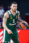 Panathinaikos Mike James during Turkish Airlines Euroleague Quarter Finals 4th match between Real Madrid and Panathinaikos at Wizink Center in Madrid, Spain. April 27, 2018. (ALTERPHOTOS/Borja B.Hojas)
