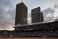 General view of the Buffalo Bisons game against the Pawtucket Red Sox on August 31, 2017 at Coca-Cola Field in Buffalo, New York.  Buffalo defeated Pawtucket 4-2.  (Mike Janes/Four Seam Images)