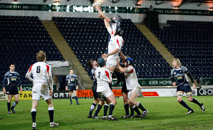 Photo: Richard Lane/Richard Lane Photography. .Scotland U20 v England U20. RBS U20 Six Nations. 07/03/2008.