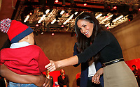 01 December 2017 - Meghan Markle during a visit to the Terrence Higgins Trust World AIDS Day charity fair at Nottingham Contemporary in Nottingham. Photo Credit: ALPR/AdMedia