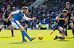 St Johnstone v Ross County&hellip;12.05.18&hellip;  McDiarmid Park    SPFL<br />Murray Davidson shoots for goal<br />Picture by Graeme Hart. <br />Copyright Perthshire Picture Agency<br />Tel: 01738 623350  Mobile: 07990 594431