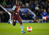Aston Villa's Marvelous Nakamba chasing down a loose ball <br /> <br /> Photographer Andrew Kearns/CameraSport<br /> <br /> The Premier League - Leicester City v Aston Villa - Monday 9th March 2020 - King Power Stadium - Leicester<br /> <br /> World Copyright © 2020 CameraSport. All rights reserved. 43 Linden Ave. Countesthorpe. Leicester. England. LE8 5PG - Tel: +44 (0) 116 277 4147 - admin@camerasport.com - www.camerasport.com