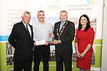 WITH COMPLIMENTS.  Attending the  Entrepreneur of the Year 2016 in the  Limerick Final of the National Enterprise Awards at a ceremony in the Dunraven Arms Hotel, Adare were Cllr. Liam Galvin, Mayor of Limerick City and County Council who presented the award to Declan McCarthy, McAdare, winner of the Best New Start Up award. Also in the photograph are Eamon Ryan, Head of Enterprise, Local Enterprise Office Limerick and Ciara Finlay, Local Enterprise Office. Best New Start Up Business - McAdare was formed in December 2014 by Declan and Daniel McCarthy. Declan is a qualified sheet metal worker with over 25 years experience, having worked with Hertel, an international industrial services company based in Foynes. The company has benefited from the support offered by LEO Limerick since its inception through mentoring, advice and grant aid. McAdare provides industrial insulation and ducting, along with the fabrication of metal cladding as a means of protection for insulation products. In 2016, the company plan to become sole stockists in the Midwest region for Lindab Products, a well known brand of ducting products in the industry. The company is quickly gaining a reputation for quality, reliability and adherence to safety standards.<br />Photograph Liam Burke/Press 22
