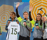 USWNT at Good Morning America, May 29, 2015