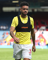 Blackburn Rovers' Derrick Williams during the pre-match warm-up <br /> <br /> Photographer Rachel Holborn/CameraSport<br /> <br /> The EFL Sky Bet League One - Blackburn Rovers v Doncaster Rovers - Saturday August 12th 2017 - Ewood Park - Blackburn<br /> <br /> World Copyright &copy; 2017 CameraSport. All rights reserved. 43 Linden Ave. Countesthorpe. Leicester. England. LE8 5PG - Tel: +44 (0) 116 277 4147 - admin@camerasport.com - www.camerasport.com