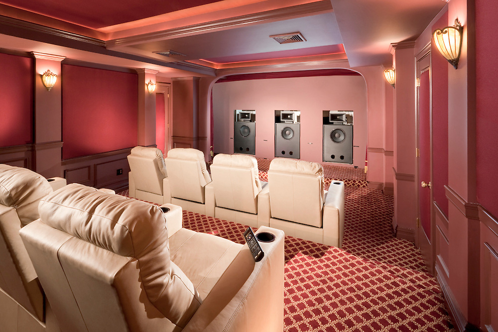 Hidden Theater Sound Speakers