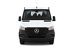 Car photography straight front view of a 2019 Mercedes Benz Sprinter DC Base 4 Door Pick Up