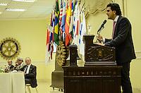 SAO PAULO, 08 DE AGOSTO DE 2012 - ELEICOES 2012 CHALITA - Candidato Gabriel Chalita durante almoço-conferência no Rotary Club de São Paulo, no Higienópolis, regiao central da capital, na tarde desta quarta feira. FOTO: ALEXANDRE MOREIRA - BRAZIL PHOTO PRESS