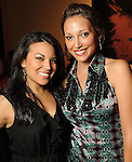 Samantha Castenada and Erika Beltran at the kick-off party for the Latin Wave: New Films From Latin America festival a the Museum of Fine Arts Houston Thursday April 29,2010.. (Dave Rossman Photo)