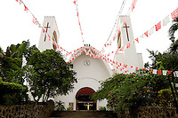 "Travelers looking for old-world, traditional Mexico only need to travel about 30 minutes from Zihuatanejo/Ixtapa to find the gold mining town of Petatlan, population 18,000. ..The town boasts the beautiful church ""Cristo Jesus de Petatlan,"" where travelers light hundreds of candles daily in memory of and prayer for loved ones.  Petatlan, in Guerrero, also is home to a town square, gold market and colorful street market.  (Photos taken August 2007) PHOTOS BY: PATRICK SCHNEIDER PHOTO.COM"