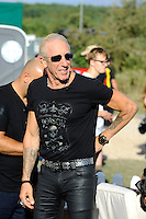 DERBYSHIRE, ENGLAND - AUGUST 12:  Dee Snider backstage at Bloodstock Open Air Festival, Catton Park on August 12, 2016 in Derbyshire, England.<br /> CAP/MAR<br /> &copy;MAR/Capital Pictures /MediaPunch ***NORTH AND SOUTH AMERICAS ONLY***