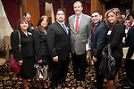 Vicente Fox with State Rep. Armando Walle with East Aldine District's Richard Cantu and Staff.