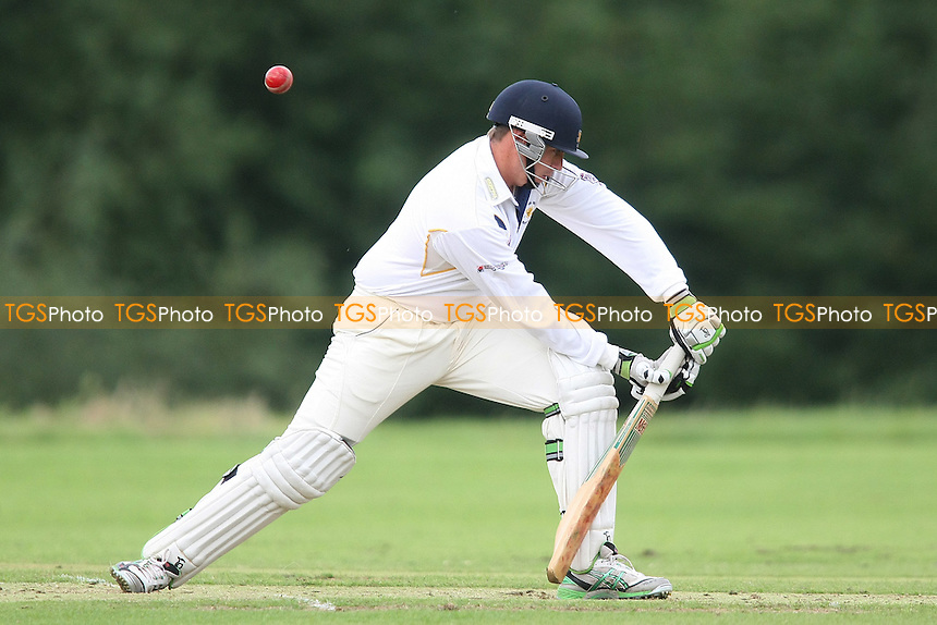 Chris Cook of Ardleigh Green - Ardleigh Green CC vs Colchester & East Essex CC - Essex Cricket League - 04/08/12 - MANDATORY CREDIT: George Phillipou/TGSPHOTO - Self billing applies where appropriate - 0845 094 6026 - contact@tgsphoto.co.uk - NO UNPAID USE.
