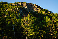 Afternoon light at the Lower Washbowl Cliffs on Giant Mountain in the Adirondack Mountains of New York State
