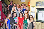 Norma Nolan, Loughill, pictured with her family and friends as she celebrated a special occasion in Lord Kenmares restaurant, Killarney on Saturday night.........