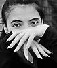 Yasmin models her fingers and her new finger nails. Her friend did them and it was only her second time.<br />