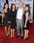 "Anthony Hopkins and family at the premiere of Marvel's ""Thor The Dark World"" held at El Capitan Theatre Los Angeles, Ca. November 4, 2013"