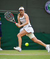 28-06-13, England, London,  AELTC, Wimbledon, Tennis, Wimbledon 2013, Day five, Ekatarina Makarova (RUS)<br /> <br /> <br /> <br /> Photo: Henk Koster