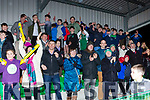 Killarney Celtic fans celebrate after their victory over Jamestown in the FAI cup on Saturday.