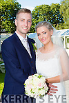 Juliette O'Connor, Scartaglen, daughter of Eileen and the late Con, and Brendan Holohan, Shronaboy, Glenflesk, son of tom and Breda, who were married in Our Lady of lourdes church Scartaglen on Friday, Fr Anthony O'sullivan officiated at the ceremony, best man was Ian holohan, groomsman was Paul holohan, bridesmaids were Siobhain O'Connor and Joanne Brosnan, the reception was held in the Malton and the couple will reside  in Glenflesk
