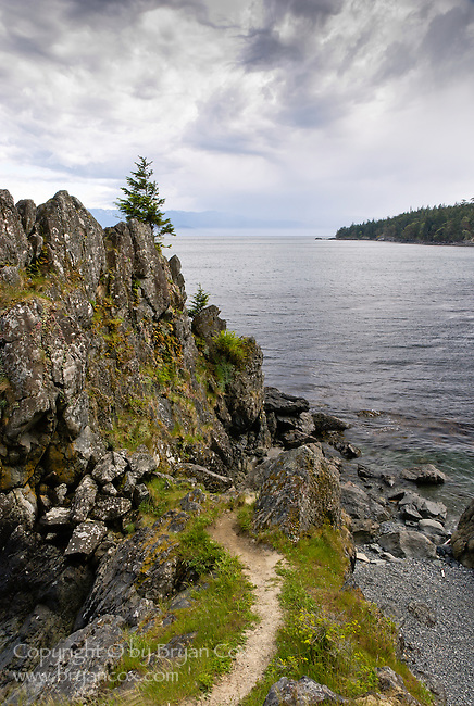 Becher Bay, from Creyke Point, East Sooke Regional Park, Vancouver Island, BC