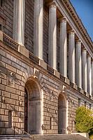 IRS Building Washington DC Architecture