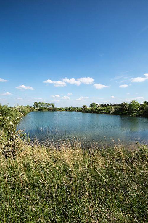 On farm Irrigation reservoir<br /> Picture Tim Scrivener 07850 303986