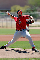 Jeremy Thorne - Los Angeles Angels - 2009 spring training.Photo by:  Bill Mitchell/Four Seam Images